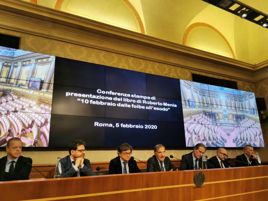 """Presentazione del Libro """"10 febbraio: dalle Foibe all'esodo» di Roberto Menia"""